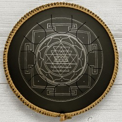 Freezbee Sri Yantra Black Diamond